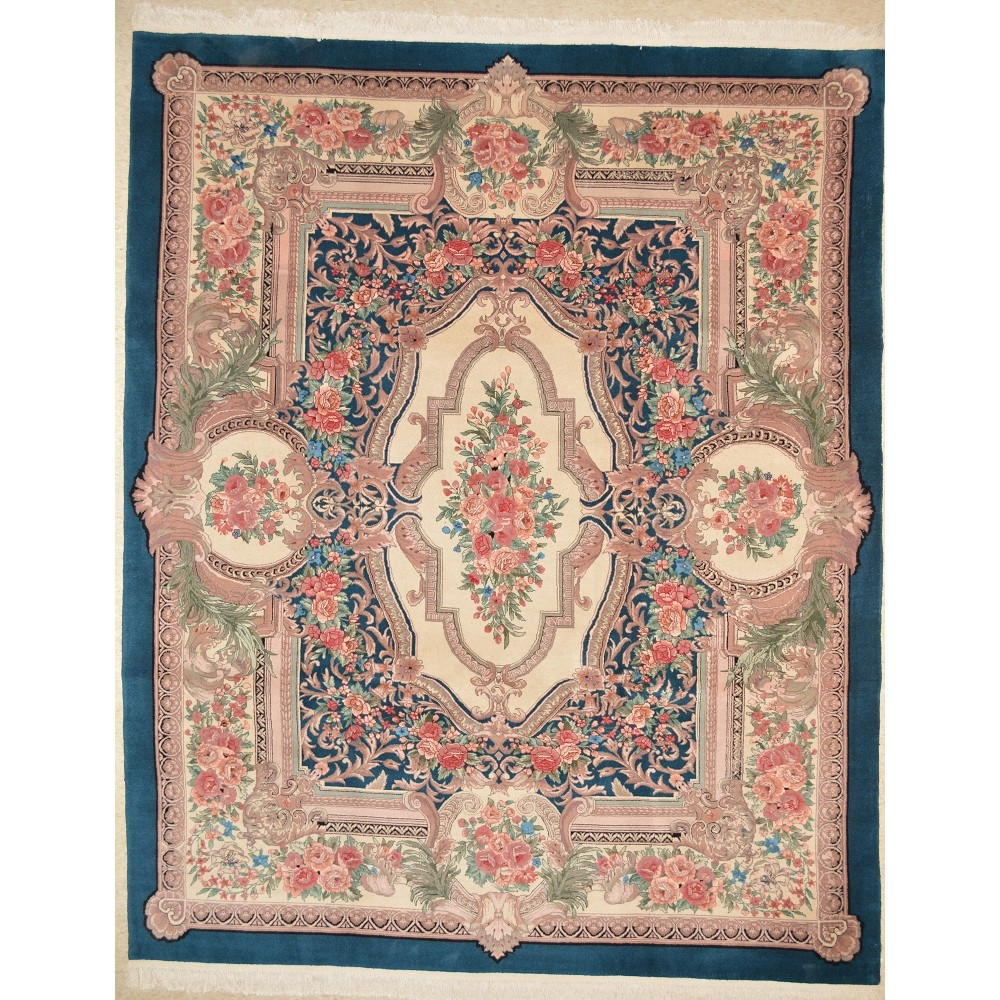 Size 8 0 X 10 0 Sina Aubusson Wool Rug From China