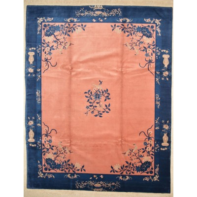 Peking Rose & Bird Rug Jac1121 (8' x 10')