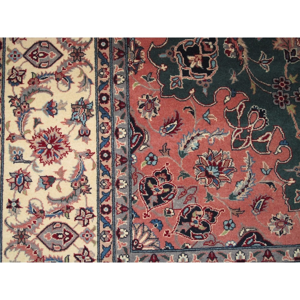 Size 8 4 Quot X 8 3 Quot Tabriz Wool Rug From Pakistan