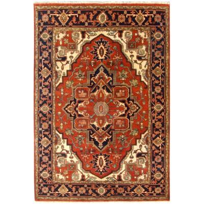 """Heriz Wool Rug ar37851 (   6' 00"""" x 9' 01"""")"""