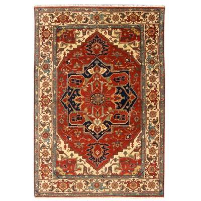 """Heriz Wool Rug ar37853 (   6' 00"""" x 9' 01"""")"""