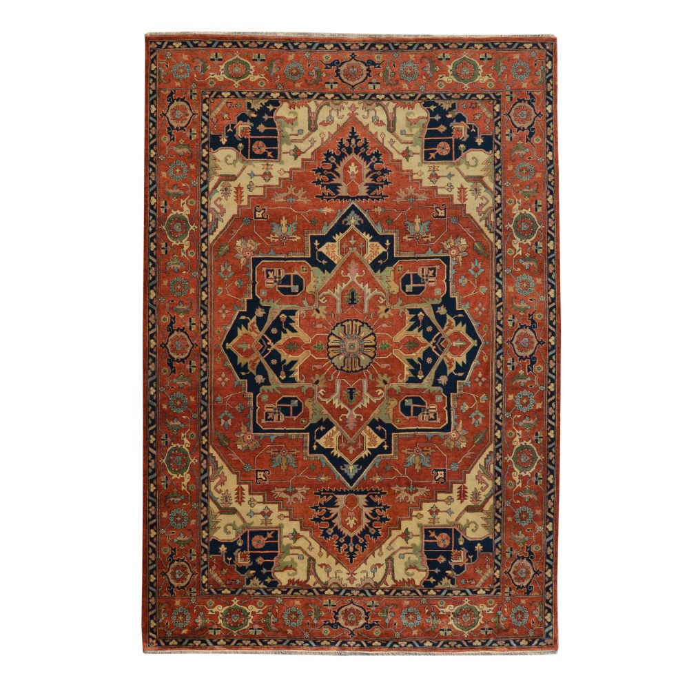 Size 9 10 Quot X 14 00 Quot Heriz Wool Rug From India