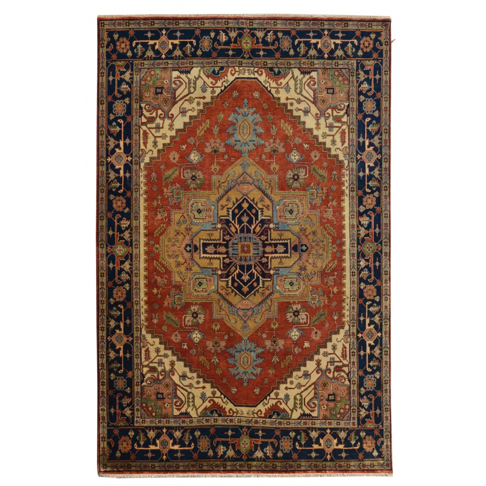 Size 8 11 Quot X 11 11 Quot Heriz Wool Rug From India