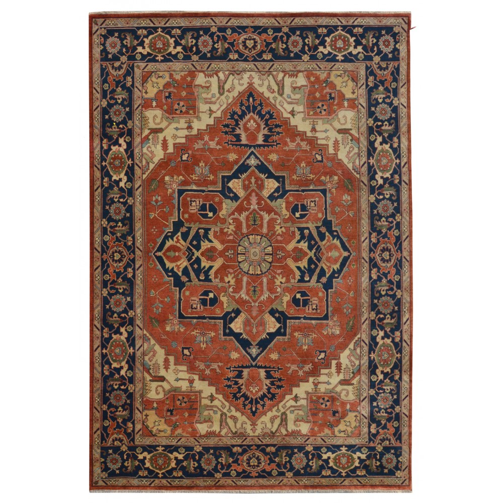 Size 9 11 Quot X 14 01 Quot Heriz Wool Rug From India