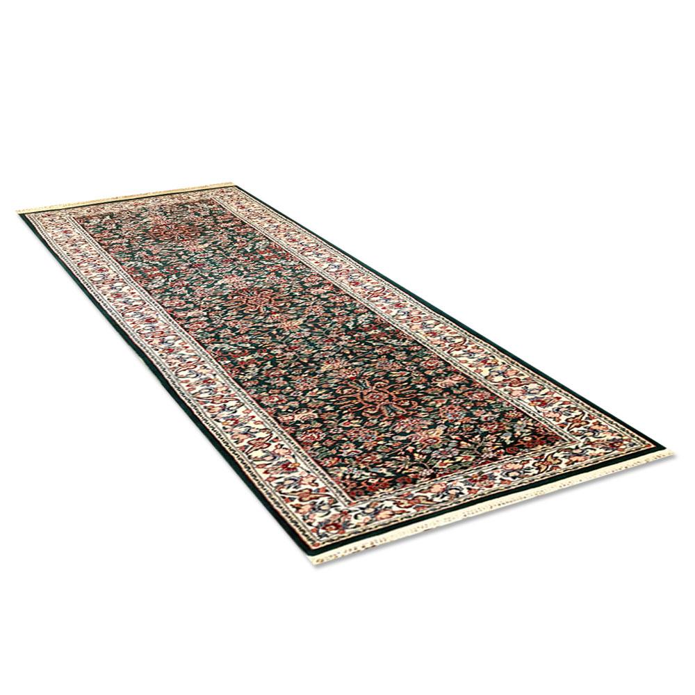 "Size 2 7 X6 2 Agra Rug India: Size 2'7""x10'0"" KASHAN Wool Rug China"