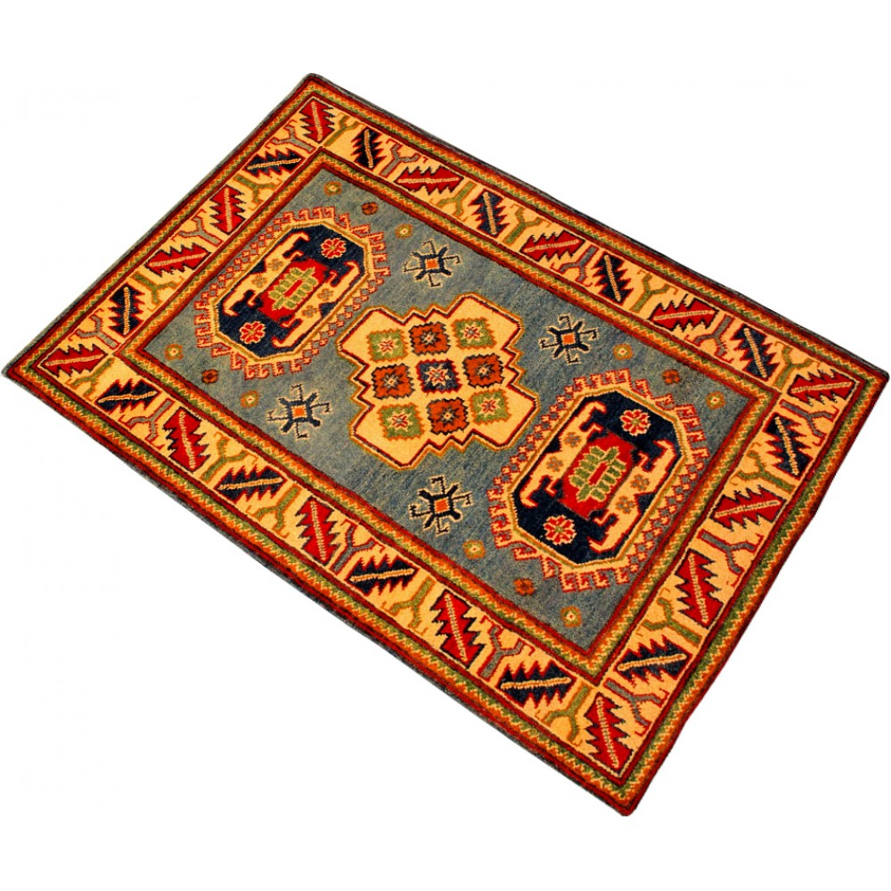 Size 2 10 X 4 1 Kazak Wool Rug From Pakistan