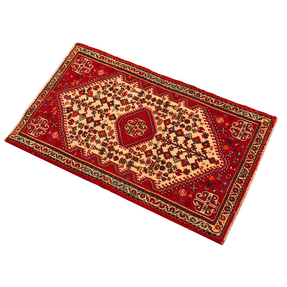 Size 2 2 X 3 7 Abadeh Wool Rug From Iran