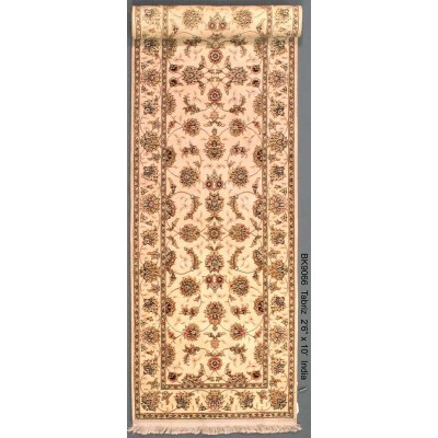 "Tabriz Runner Wool Rug(2'6"" x 10'  )"
