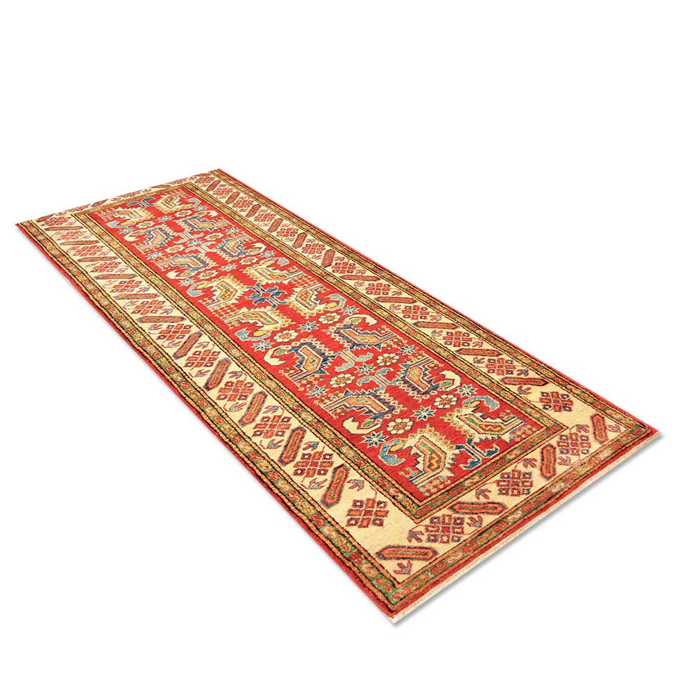 Size 2 8 X 9 3 Kazak Wool Runner From Pakistan
