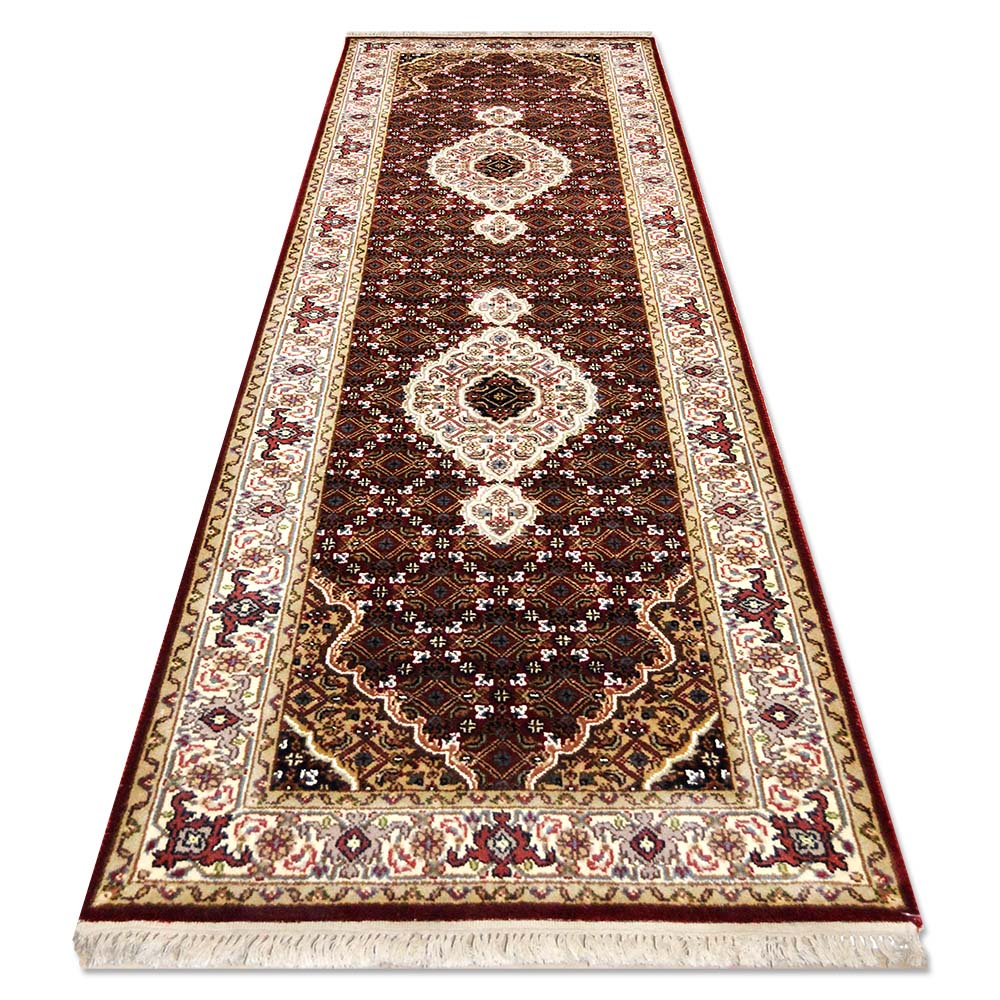Size 2 39 7 x7 39 10 fine bigar rug india for Home inspired by india rug