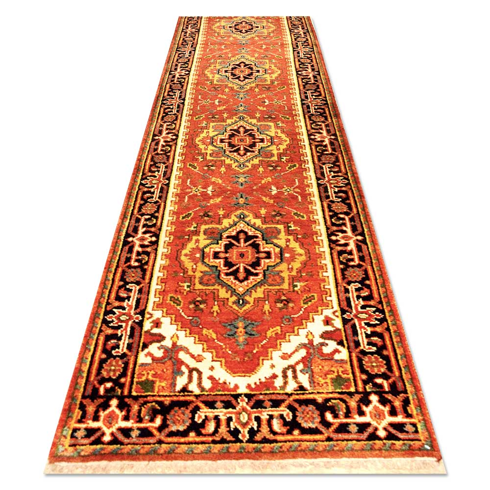 Size 2 39 7 x12 39 6 serapi rug india for Home inspired by india rug