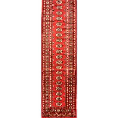 "BOKHARA Wool Rug Jac9028 (Size 2'7""x12'8"")"