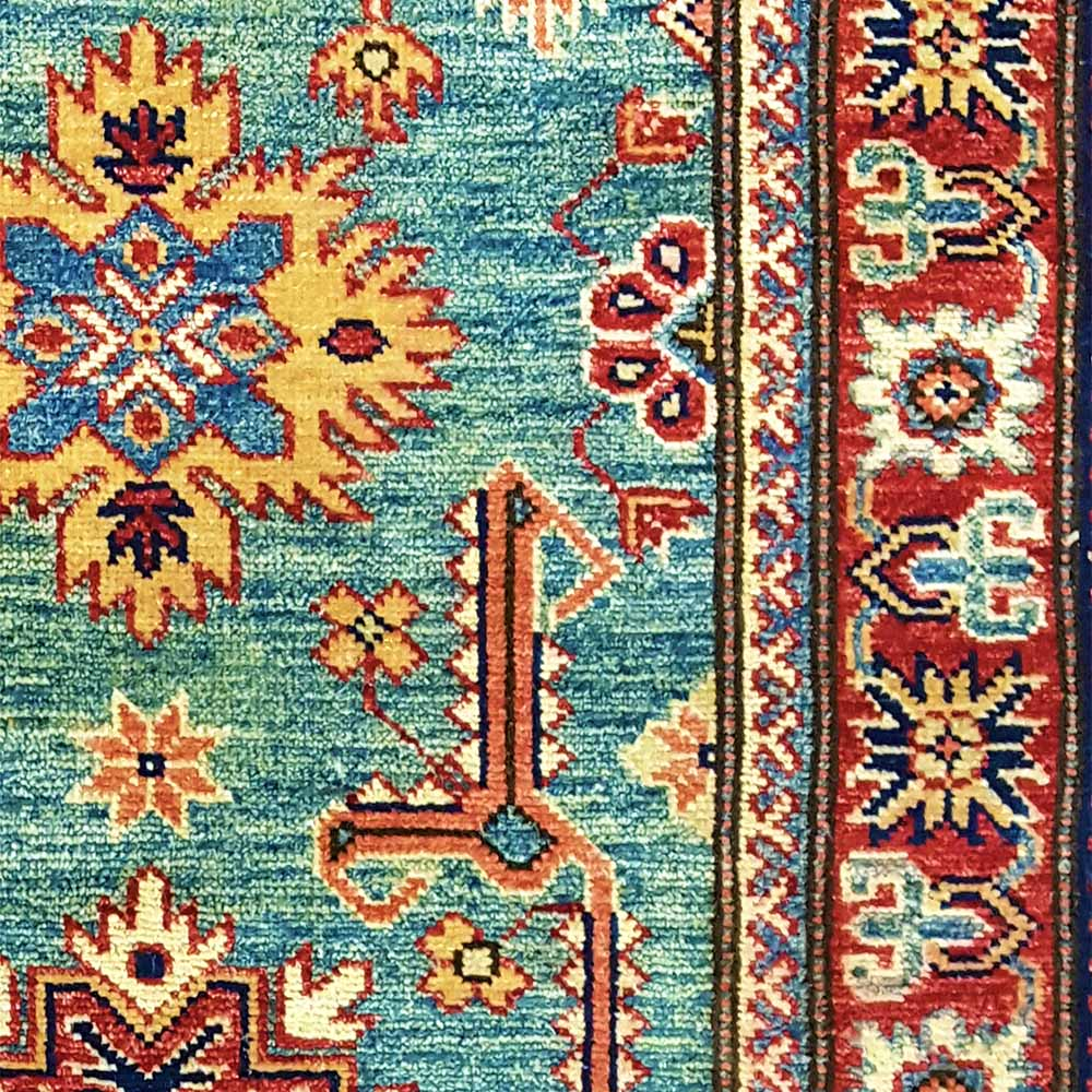 Size 2 8 Quot X 8 0 Super Kazak Wool Rug Pakistan