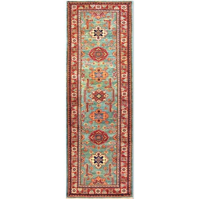 "SUPER KAZAK Wool Rug XS9030 (2'8"" x 8' 0"")"