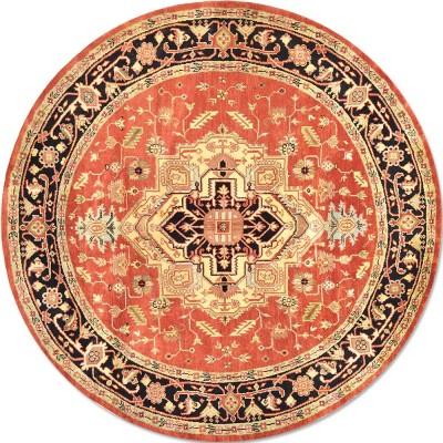 Serapi az1388 Round Rug az1388 (Size 8'x8')