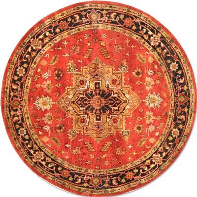 Serapi Round Rug az1390 (Size 6'x6')