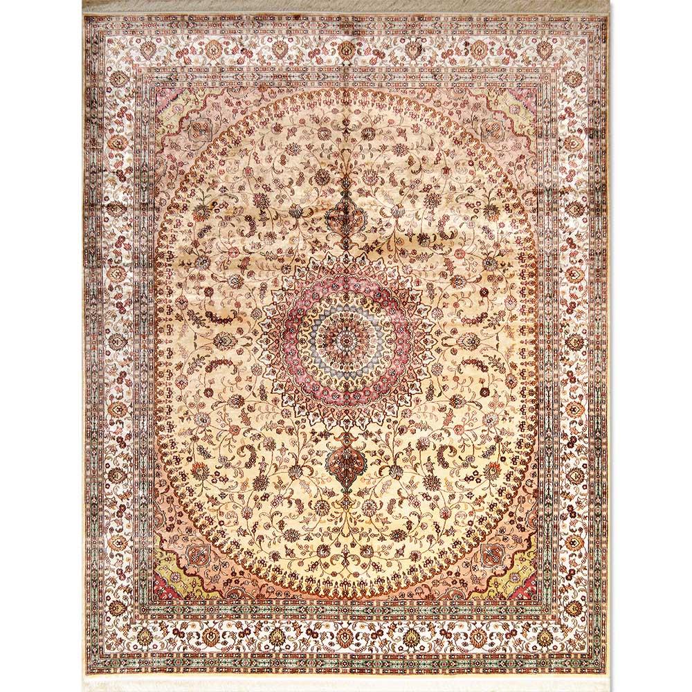 New  20% Art Silk Rug JK6252 (Size 8u0027x10u0027)