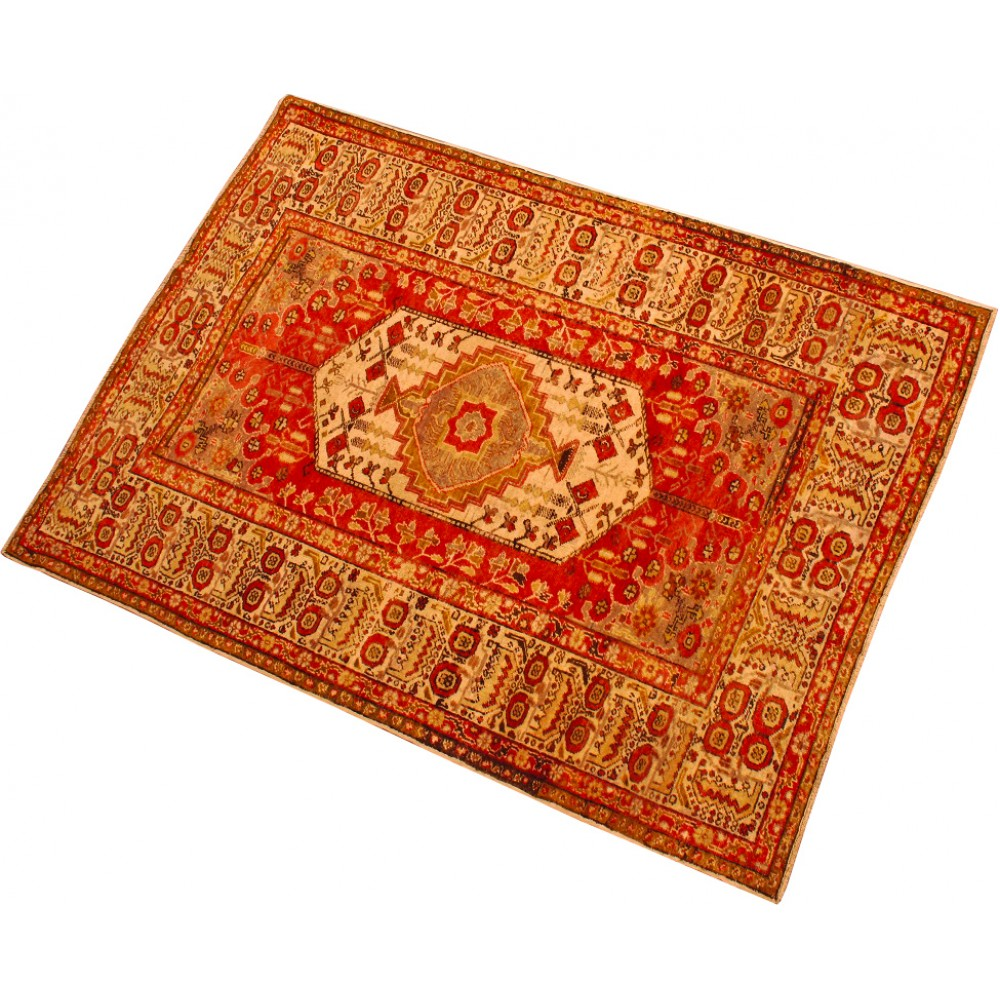 Size 4 5 X 6 Oushak Wool Rug From Turkey