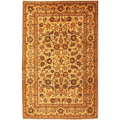 "Kashan Wool Rug(4' 7"" x 6' 10"" )"