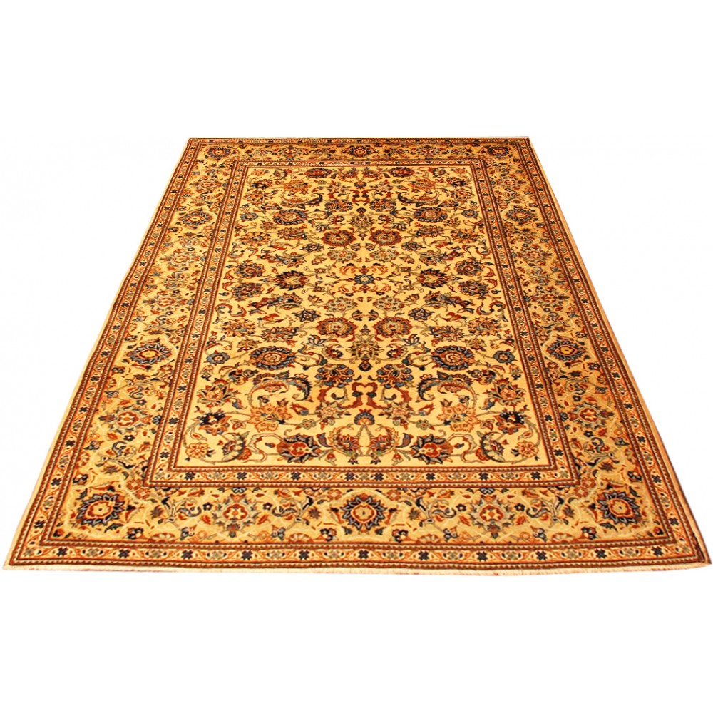 Size 4 7 X 6 10 Kashan Wool Rug From Iran
