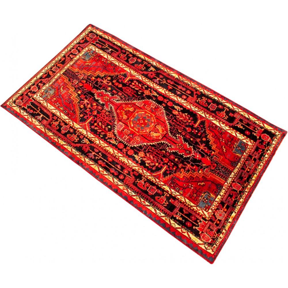Size 4 7 X 8 0 Ft Hamadan Wool Rug From Iran