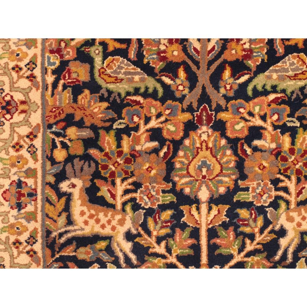 Animal Tabriz Wool Runner