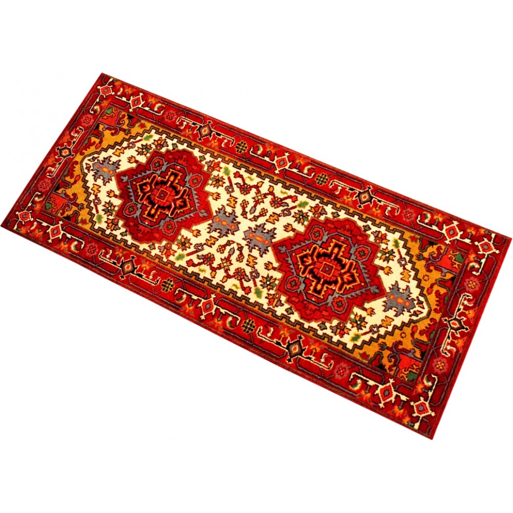 Size 2 7 X 6 Herez Wool Runner From India
