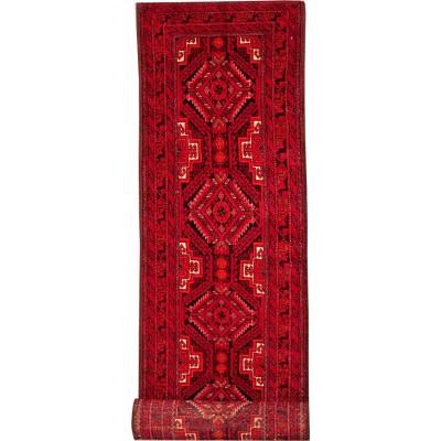"Balouch Wool Rug(2' 1"" x 9' 3"")"