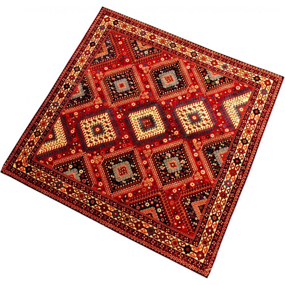 Size 4 1 X 4 10 Yalameh Wool Rug From Iran