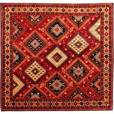 """Yalameh Wool Rug(4' 1"""" x 4' 10"""" )"""