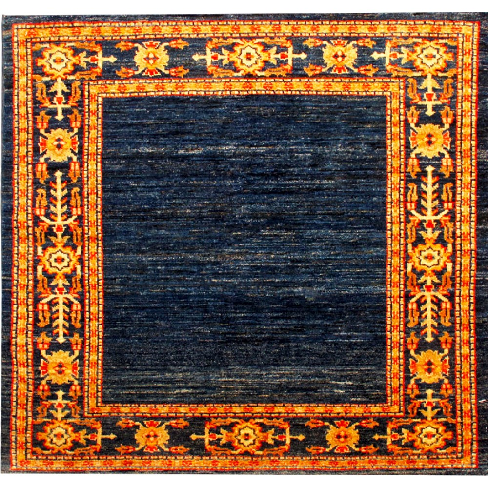 Size 3 5 X 3 5 Oushak Wool Rug From Pakistan
