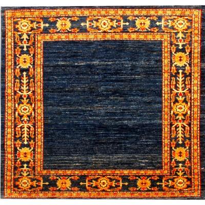 "Oushak Wool Rug(3' 5"" x 3' 5"")"