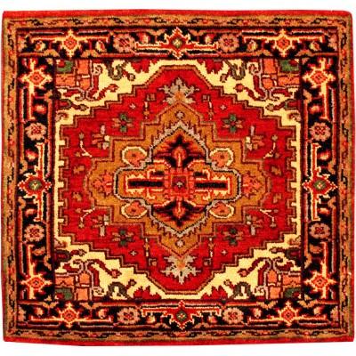 "Serapi Wool Rug(3' 1"" x 3' 1"" )"