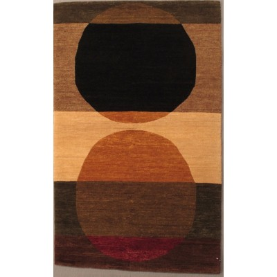 "Total Eclipse Wool Rug(3' 2"" x 5' 1"" )"