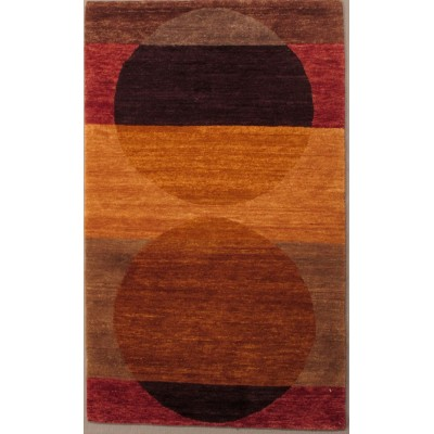 Total Eclipse Wool rug(3' x 5' )